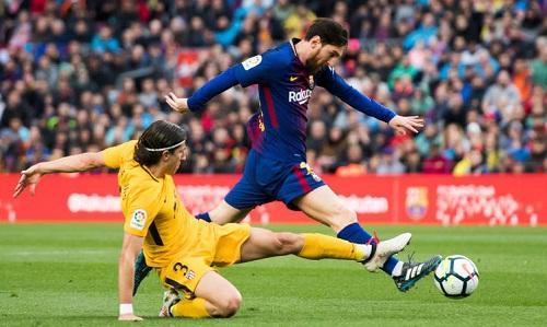 Luis xem Messi là cầu thủ hay nhất thế giới. Ảnh: AFP.