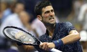 Djokovic chật vật vượt qua tứ kết Mỹ mở rộng