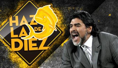 Maradona tới Mexico làm HLV bắt đầu từ tháng 9/2018. Ảnh: BBC.