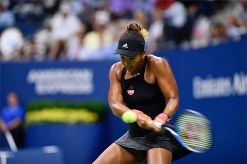 Hạt giống số 20 Naomi Osaka trở thành hiện tượng của Mỹ Mở rộng năm nay khi lọt tới trận chung kết. Ảnh: Reuters.