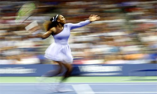 Serena thắng chóng vánh Sevastova để mở ra cơ hội cân bằng kỷ lục Grand Slam với huyền thoại Margaret Court. Ảnh: USA Today.