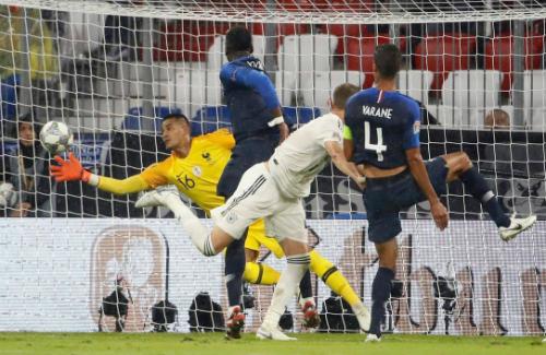 Areola làm nản lòng Toni Kroos và các đồng đội. Ảnh: AFP.