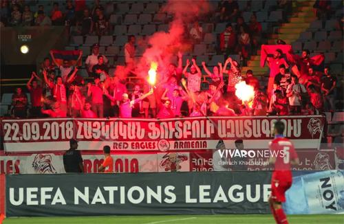 Nations League mang lại bầu không khí cuồng nhiệt chưa từng cho cho những trận cầu từng bị xem là chán ngắt như trận Armenia -Liechtenstein ở bảng 4, League D hôm qua.
