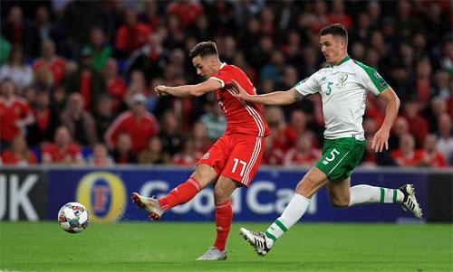 Wales đang ngày một lột xác dưới bàn tay của Giggs. Ảnh: Reuters