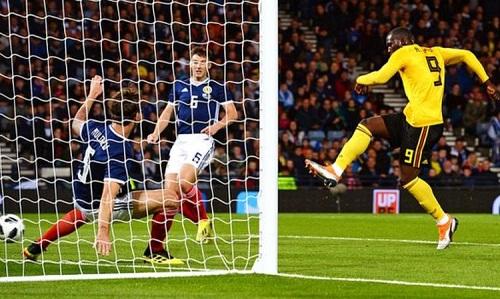 Bỉ quá mạnh so với đội chủ nhà Scotland. Ảnh: SNS.