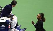 Serena đập vợt, gọi trọng tài là kẻ trộm