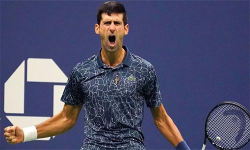 Sau Mỹ Mở rộng, Djokovic trở thành tay vợt kiếm nhiều tiền thưởng nhất mọi thời đại. Ảnh: USA Today.