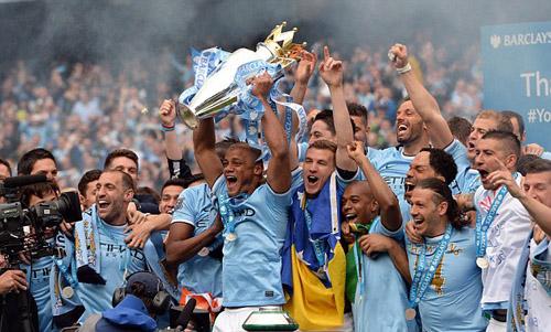Man City đang là đương kim vô địch Ngoại hạng Anh.