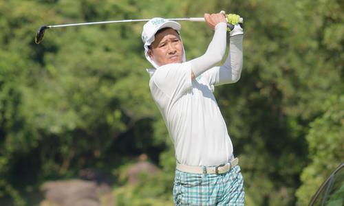 Cựu danh thủ Hồng Sơn dự giải golf từ thiện