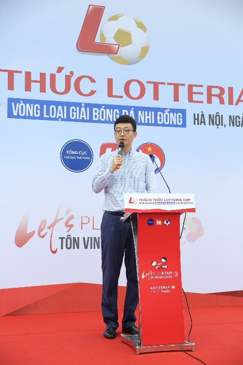 Lotteria khai mạc giải bóng đá nhi đồng thường niên lần 6 - 1
