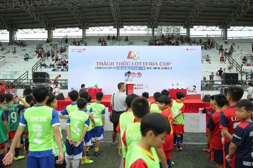 Lotteria khai mạc giải bóng đá nhi đồng thường niên lần 6 - 2