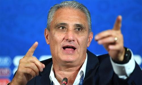 Tite đáp trả những bình luận của Trump về đội tuyển Brazil. Ảnh: FIFA.