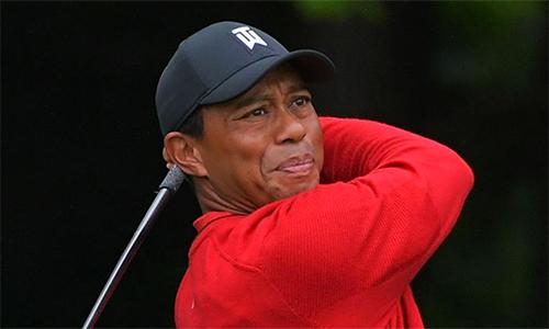 Woods từng tiến gần tới chức vô địch, nhưng kết thúc giải với ba gậy nhiều hơn đỉnh bảng. Ảnh: Sky.