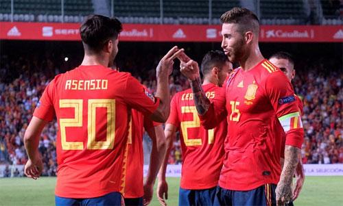Asensio chói sáng với hai pha sút xa mang tính bước ngoặt. Ảnh: Reuters