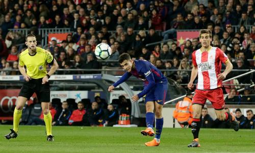 Trận đấu Girona - Barca khả năng cao được tổ chức tại Mỹ, nhưng cầu thủ đang không đồng tình. Ảnh: SI.
