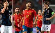Croatia chịu thất bại tệ nhất lịch sử khi thua Tây Ban Nha