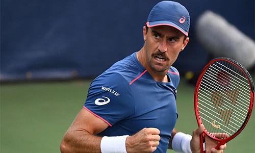 Steve Johnson phủ nhận các tay vợt nam được trọng tài ưu ái khi mắc lỗi. Ảnh: US Open.