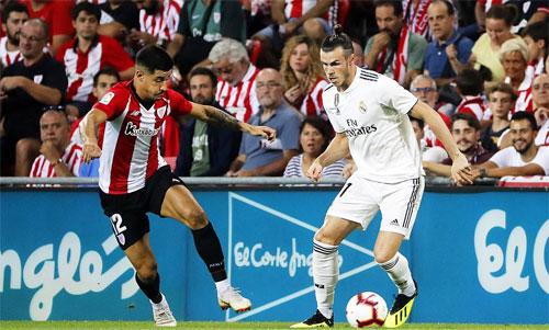 Real không thể áp đảo Bilbao như những mùa trước. Ảnh: Reuters