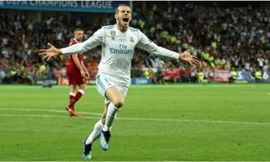 Bale tức giận vì phải ngồi dự bị ở chung kết Champions League
