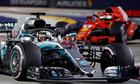 Hamilton về trước Vettel gần 40 giây tại GP Singapore