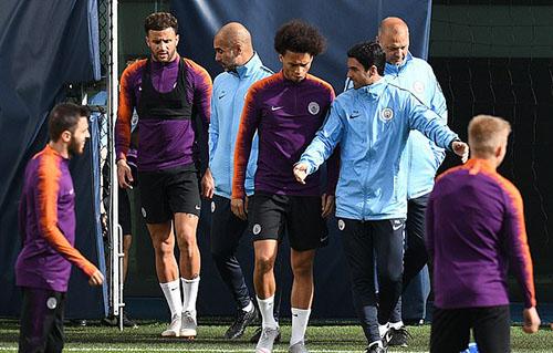 Man City đã chạy đà tốt cho chiến dịch Champions League bằng chiến thắng đậm trước Fulham cuối tuần trước. Ảnh: AP.