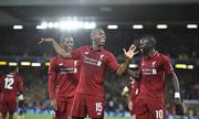 Liverpool khởi đầu mùa giải tốt nhất sau 57 năm