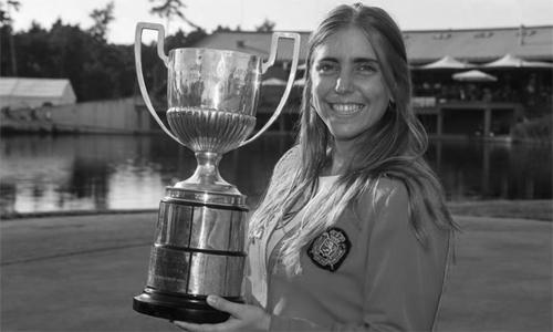 Celia được đánh giá là golfer tài năng bậc nhất châu Âu và có tương đầy hứa hẹn khi phát triển sự nghiệp tại Mỹ. Ảnh: El Pais.