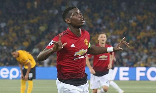 Pogba tìm lại phong độ trong những trận gần đây. Ảnh: Reuters.