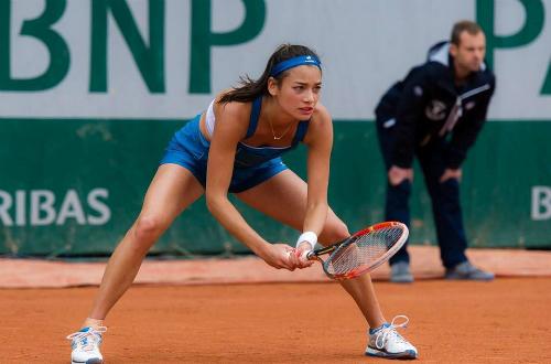 Với kinh nghiệm thi đấu ở một giải Grand Slam, Alize Lim sẽ tăng cường sức mạnh đáng kể cho đội quần vợt nữ Việt Nam. Ảnh: TDM.