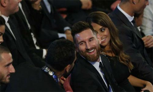 Messi là người ngoài cuộc của giải The Best năm nay.