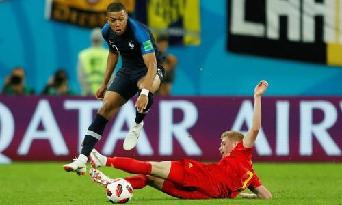 Bỉ và Pháp cùng giữ đỉnh bảng FIFA tháng Chín