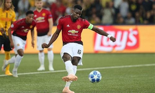 Pogba đang có phong độ tốt và lấy lại sự tự tin. Ảnh: Reuters