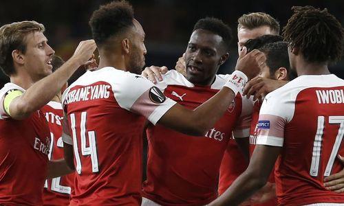 Arsenal thắng dễ trận ra quân Europa League
