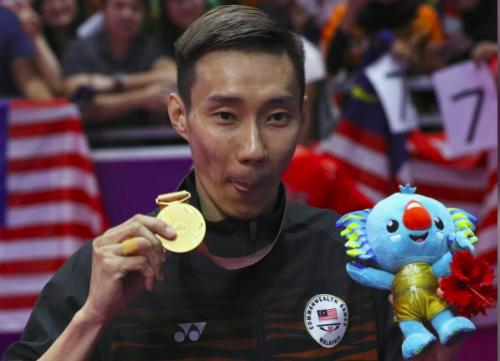 Lee với HC vàng Đại hội thể thao khối thịnh vượng chung đầu năm 2018. Ảnh: Reuters.