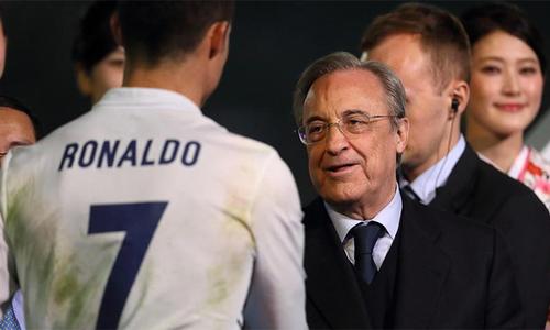 Perez: 'Real luôn là ngôi nhà của Ronaldo'