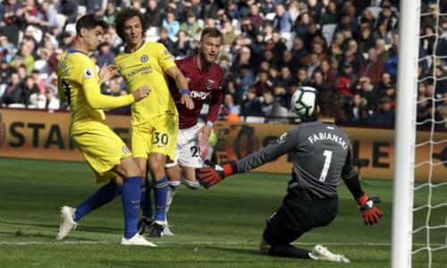Chelsea lần đầu phải chia điểm trong mùa mới