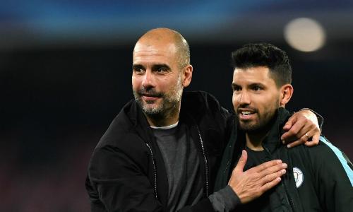 Guardiola và Man City vẫn là thế lực lớn tại Ngoại hạng Anh. Ảnh:AFP.
