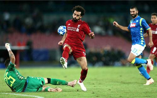 Salah và các đồng đội trên hàng công đều chơi mờ nhạt. Ảnh:Empics Sport.