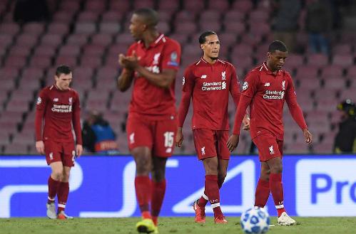 Liverpool khởi đầu mùa giải với những chiến thắng liên tiếp nhưng thua hai và hòa một ở ba trận gần nhất. Ảnh:Reuters.