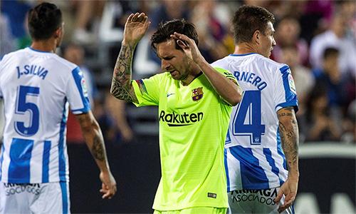Barca của Messi có thể vẫn bảo vệ được ngôi vương, nhưng sẽkhó để thể hiện sức mạnh áp đảo như những lần đăng quang trước.