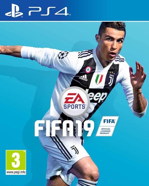 Hình ảnh ra mắt game FIFA 19 có ảnh Ronaldo đã bị gỡ bỏ.