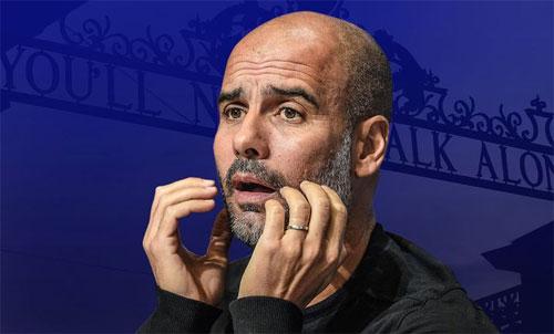 Pep và Man City sẽ gặp thách thức rất lớn tại Anfield.