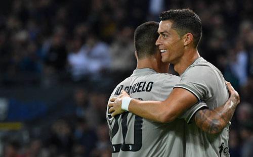 Ronaldo đã chứng tỏ được bản lĩnh của một ngôi sao hàng đầu. Ảnh: Reuters.