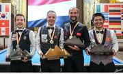 Quốc Nguyện đoạt HC đồng giải carom 3 băng thế giới
