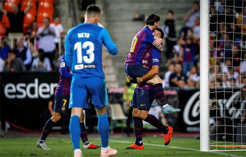 Messi vẫn đang chơi với phong độ rất cao.