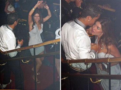 Ronaldo và Kathryn vui vẻ với nhau trong hộp đêm, trước khi sự việc đáng tiếc xảy ra.