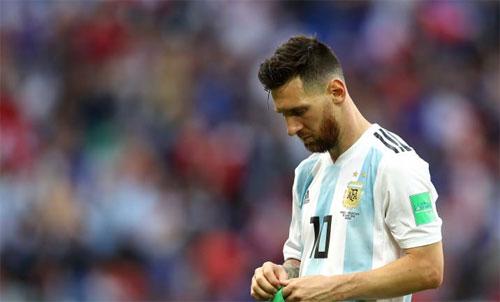 Messi chưa giành được World Cup như những huyền thoại như Pele, Maradona, Zidane, hay Ronaldo Nazario. Ảnh: Reuters