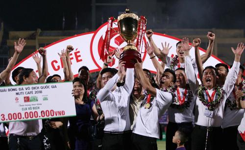 Từ sâu khi lên V-League vào năm 2009, Hà Nội đã đạt được bốn chức vô địch.