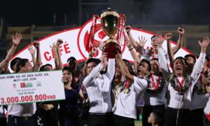 CLB Hà Nội thâu tóm các giải thưởng cá nhân ở V-League
