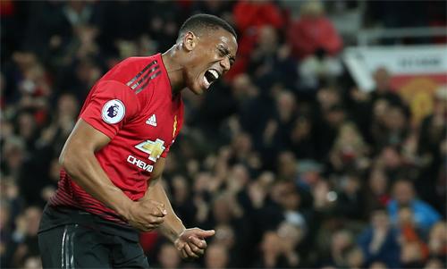 Hợp đồng mua Martial của Man Utd có nhiều điều khoản phụ với số tiền đi kèm tương đối lớn. Ảnh: Reuters